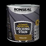 Ronseal Ultimate Decking Stain Medium Oak 2.5l (39114)