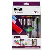 Royal Brush Learn To Set Oil Pastel 33pce (RSET-LT259)