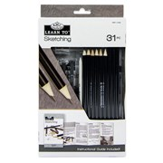 Royal Brush Learn To Set Sketching 31pce (RSET-LT252)
