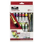 Royal Brush Learn To Set Watercolour Painting 21pce (RSET-LT255)