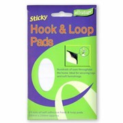 Ultratape Hook & Loop Pads White Ultra 24pads (RT017PADS24)