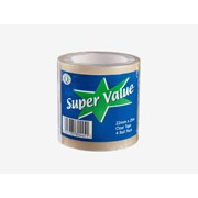 Ultratape Super Value Clear Tape 4 Roll Pack (RT03082225ES4)