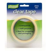 Ultratape Clear Tape 24mm x 50m (RT04302450)