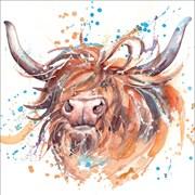 Blank Card Highland Cow (RT84950)