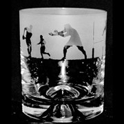 Animo Rugby Scene Whiskey Tumbler (ANT17RUGBY)