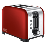 Russell Hobbs Henley 2 Slice Toaster Red 1.7l (23531)