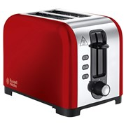 Russell Hobbs Henly 2 Slice Toaster Red (23530)