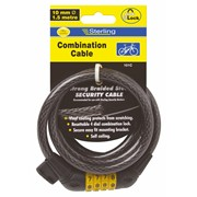 Sterling Locks Combination Locking Cable 10x1500mm (101C)