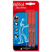 Berol Handwriting Pens Blue 2s (2056932)