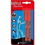 Berol Handwriting Pen Black 2s (2056933)