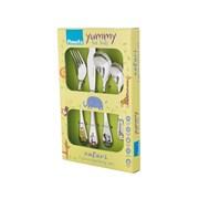 Safari Kids Cutlery Set 4pc (043000G025A40)