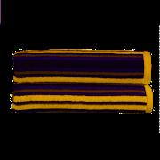 Kingsley Carnival Stripe Bath Towel Saffron (10400630)