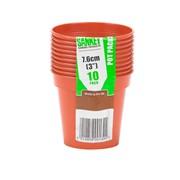 Sankey Pot Pack Terracotta 10s 7.6cm (GN021)