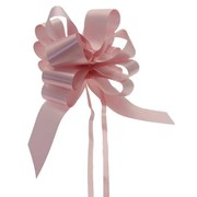 """Sateen Pull Bows Baby Pink 2"""" (PB5880)"""