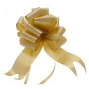 """Sateen Pull Bows Gold 2"""" (PB5878)"""