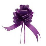 "Sateen Pull Bows Purple 2"" (PB5891)"