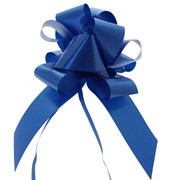 "Sateen Pull Bows Royal Blue 2"" (PB5883)"