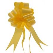"Sateen Pull Bows Yellow 2"" (PB5877)"
