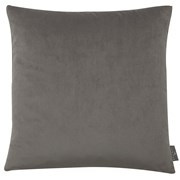 Plain Velvet Glam Grey Cushion 43cm (SC-GLAM-GREY)