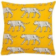 Printed Leopard Cushion Yellow 45cm (SC-SABOR)