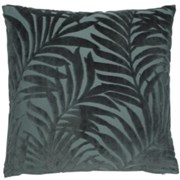 Burnt Green Leaf Cushion 45cm (SCFP-GRASSINGTON)