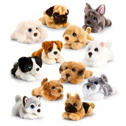 Keel Cuddles Puppy Assorted 25cm 25cm (SD2456)