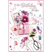 Simon Elvin Trad Female Birthday Cards (27934)