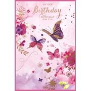 Simon Elvin Trad Female Birthday Cards (27940)