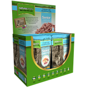 Natures Menu Senior Cooked Food Pouches For Cats Salmon & Cod 100g (SEN400)