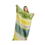 Miss Sparrow Botanical Sketches Scarf Green (SF037GREEN)