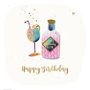 Birthday Gin Card (SFE30004)