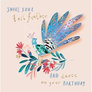 Shake Your Tail Feather B/day Card (CISE1099)