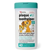 Sharples Petkin Plaque Tooth Wipes (537863)