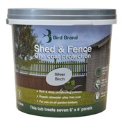 Shed & Fence Silver Birch 5lt (0078)