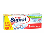 Signal Toothpaste Family Protect Twin 100ml (029575)