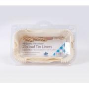 Siliconised Loaf Tin Liner Greaseproof 2lb (FP2LOAF)