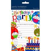 Simon Elvin Party Invitation Pads (HP-101)