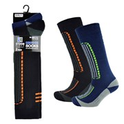 Mens 2 Pack Ski Socks (SK095)