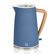 Swan Retro Blue Jug Kettle 1.5ltr (SK14610BLUN)