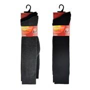 Mens Long Thermal Socks 2pk (SK165)