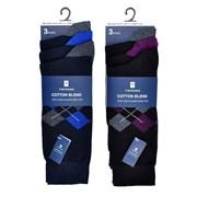 Mens 3 Pack Design Socks (SK627)