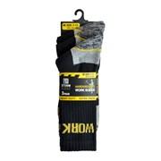 Rjm Mens 3pk Work Socks (SK630)