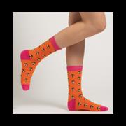 Miss Sparrow Honey Bee Socks Burnt Orange (SKS198BURNTORANGE)