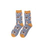 Miss Sparrow Beagle Socks Denim (SKS220DENIM)