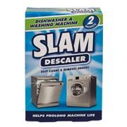 Slam Dishwasher & Washing Machine Descaler 2x75g (SLAMDWWM)