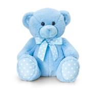 Keel Blue Spotty Bear 25cm 25cm (SN0778)
