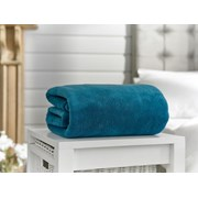 Deyongs Snuggle Touch Throw Peacock 180cm (41001012)