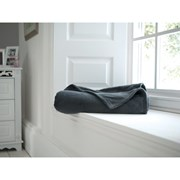 Deyongs Snuggle Touch Throw Charcoal 180cm (541019)