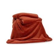 Deyongs Snuggle Touch Throw Chutney 180cm