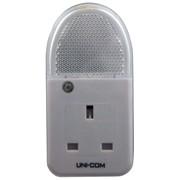Uni-com Soft White Plug Through Night Light (62745)